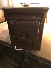 Military ammo box lamp