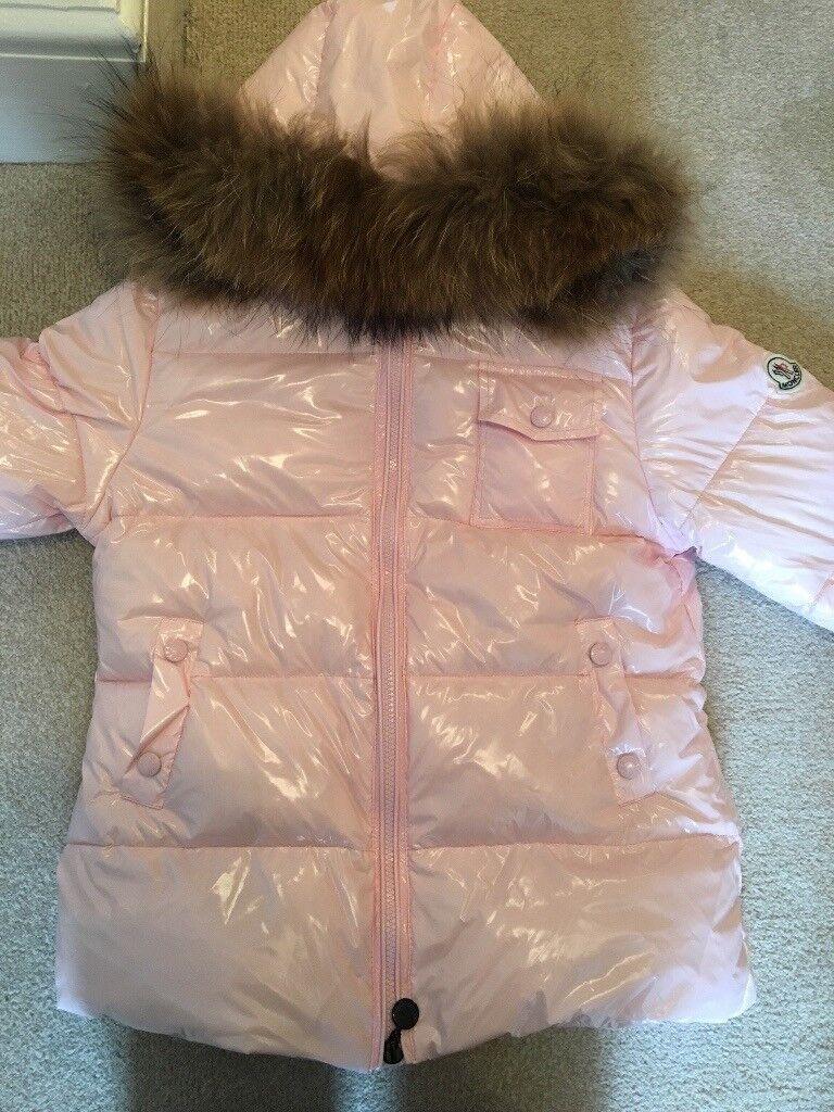 Girls moncler coat