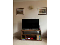 Rustic solid wood tv unit Solid pine tv stand tv stoarge unit tv sideboard living room handmade