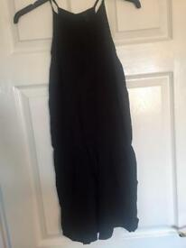 Black Playsuit, worn twice, size 8