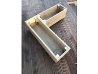Hand made Decking Planter