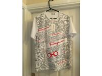 Designer T shirts. Various Sizes
