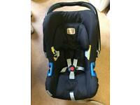 Britax baby car seat with bases