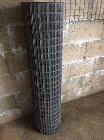 """welded mesh 16g, window sill & boxed steel 4"""""""