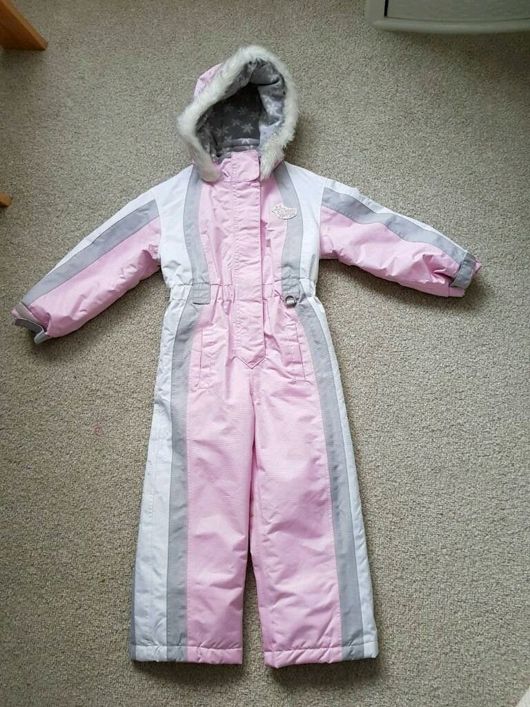 Girls snowsuit age 2-3 years.