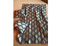 Curtains & 2 cushions
