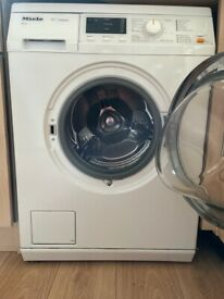 Miele WDA111 Free Standing Washing Machine White