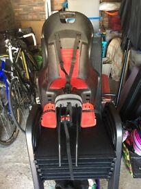 Bike Seat for toddler (rear-mounted)