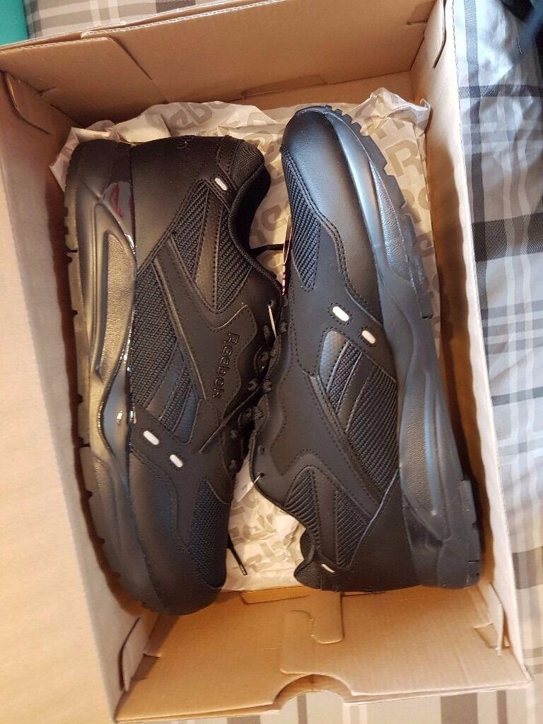 9311ef442c9f Edmonton Nr Bolton Black In Brand size New 10 Reebok Trainers 6zPw55