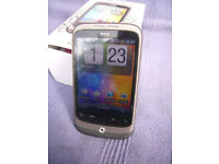HTC WILDFIRE ANDROID MOBILE PHONE - 3 NETWORK