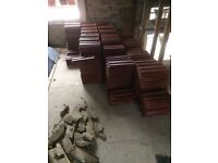 600 Forticrete Concrete Roof Tiles 230mm x 380mm Farmhouse Red