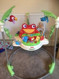 Barely used Jumperoo, he never really took to it. From Clean, smoke and pet free house.