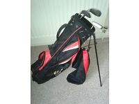GOLF BAG & IRONS
