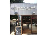 FOH position at Department of Coffee and Social Affairs