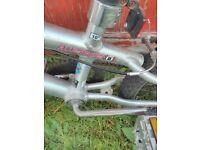 BMX Abuse aluminium bike with gyro steering. Good condition £45 ono