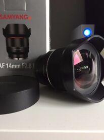 Samyang AF 14mm f/2.8 FE Sony E-Mount