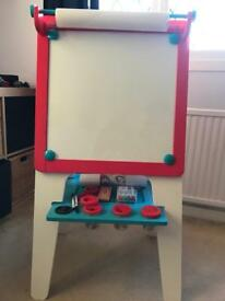 Double sided easel + extras!! Kids. Children. Excellent condition!