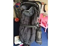 Quinny pushchair and maxi visit car seat