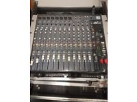 16 channel Mixing desk and USB Media Player with Flight Case