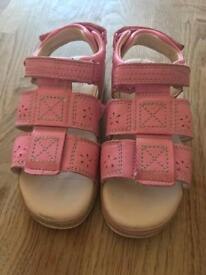 Girls Clark's Sandals