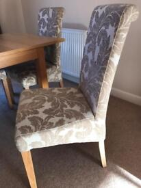 Dining table & 6 chairs *** reduced price***