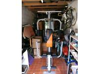 Compact Upright Seated Gym