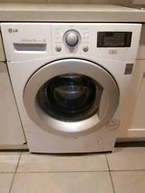 LG 7KG White Direct Drive F1248QDP1 Washing Machine