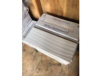 4 boxes Johnson white wave wall and floor tiles