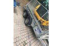 Ifor Williams 10 x 5 trailer with cage