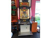 Namco PAC-MAN Ball Arcade 10p Coin Pusher . Fully refurbished