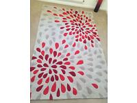 Large Rug red/natural - perfect condition