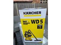New Karcher WD5 vacuum