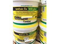 15kg Buckets of white Tile adhesive