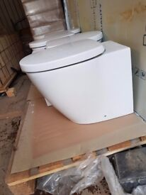 Ideal Standard Concept Back-to-wall toilet pans.