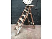 Beautiful wooden vintage ladders ideal shabby chic project