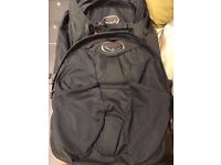 Osprey Farpoint 70 Volcanic Grey with 13L Detachable Daypack - Used for 3 Months Only!