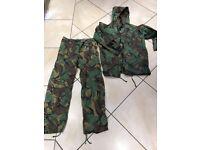 DPM Waterproof Jacket & Trousers (Non Gortex)