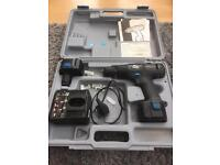 12 v ELU cordless drill with 2 x batteries and charger