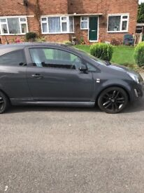 Vauxhall corsa limited edition 2014