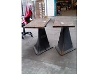 HEAVY BASE FOR TABLE TRIANGLE THREE SIDED