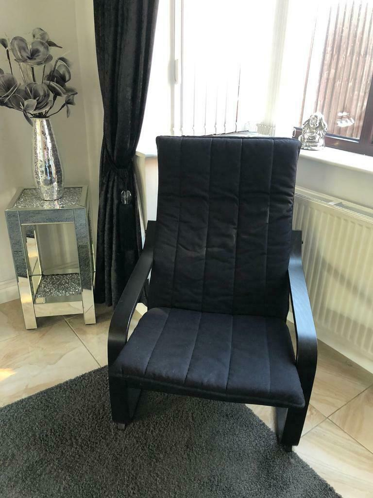 2 for sale Ikea Poang chair black immaculate gaming ...