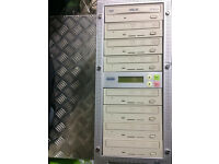 1 - 7 ACARD DVD CD MULTI DUPLICATOR DRIVE BURNER COPIER
