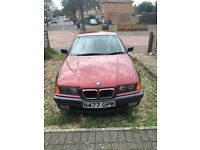 bmw 316 automatic drive very well 1.6cc very economical to drive