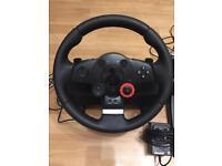 Logitech driving steering wheel (playstation 3)