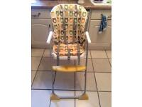 Joie baby and toddler highchair