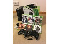 Xbox 360 console and Games