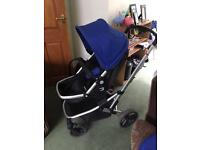 Pushchair with group 0 car seat