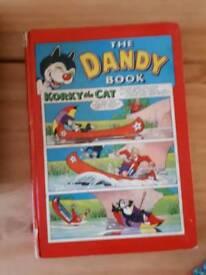 The Dandy book vintage