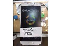 Samsung Galaxy S4,Unlocked,Like Brand New,With Warranty