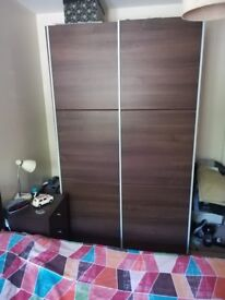 Wardrobe with sliding doors - good condition